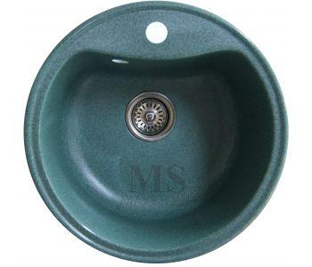 Мойка для кухни из искусственного камня МС-4 Зеленый