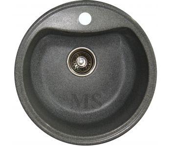 Мойка для кухни из искусственного камня МС-4 Темно серый
