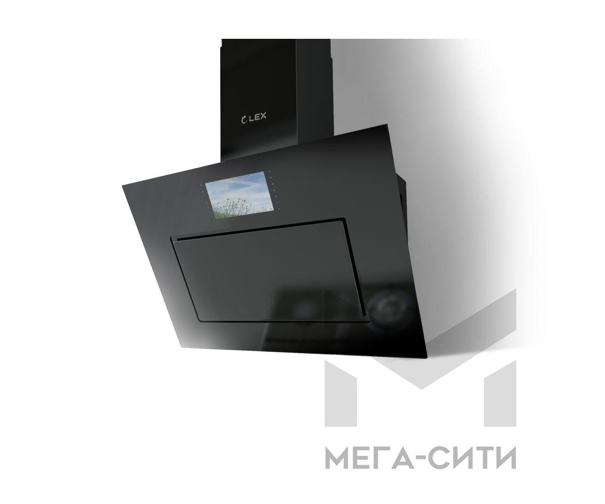 Вытяжка для кухни AURORA 900 BLACK +TV
