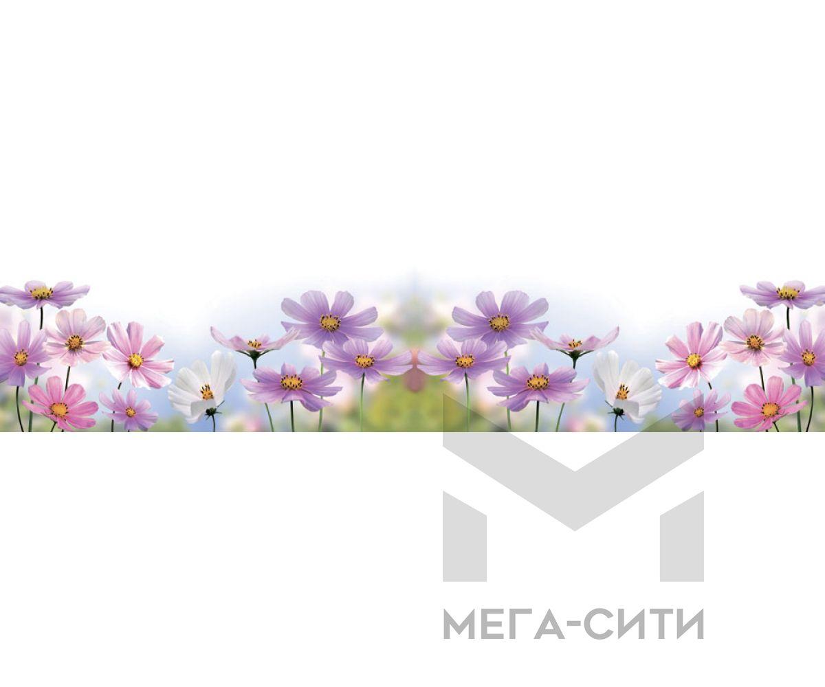 Стеновая панель (высокоглянцевая) Msk Полевые цветы