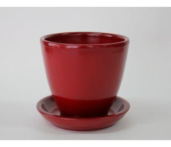 Горшки керамические, комплект, производство Польша, 3004