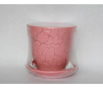 Горшки керамические, комплект, производство Польша, 3015C