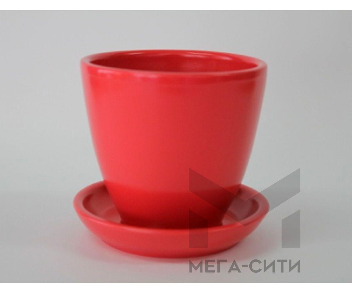 Горшки керамические, комплект, производство Польша, 3017