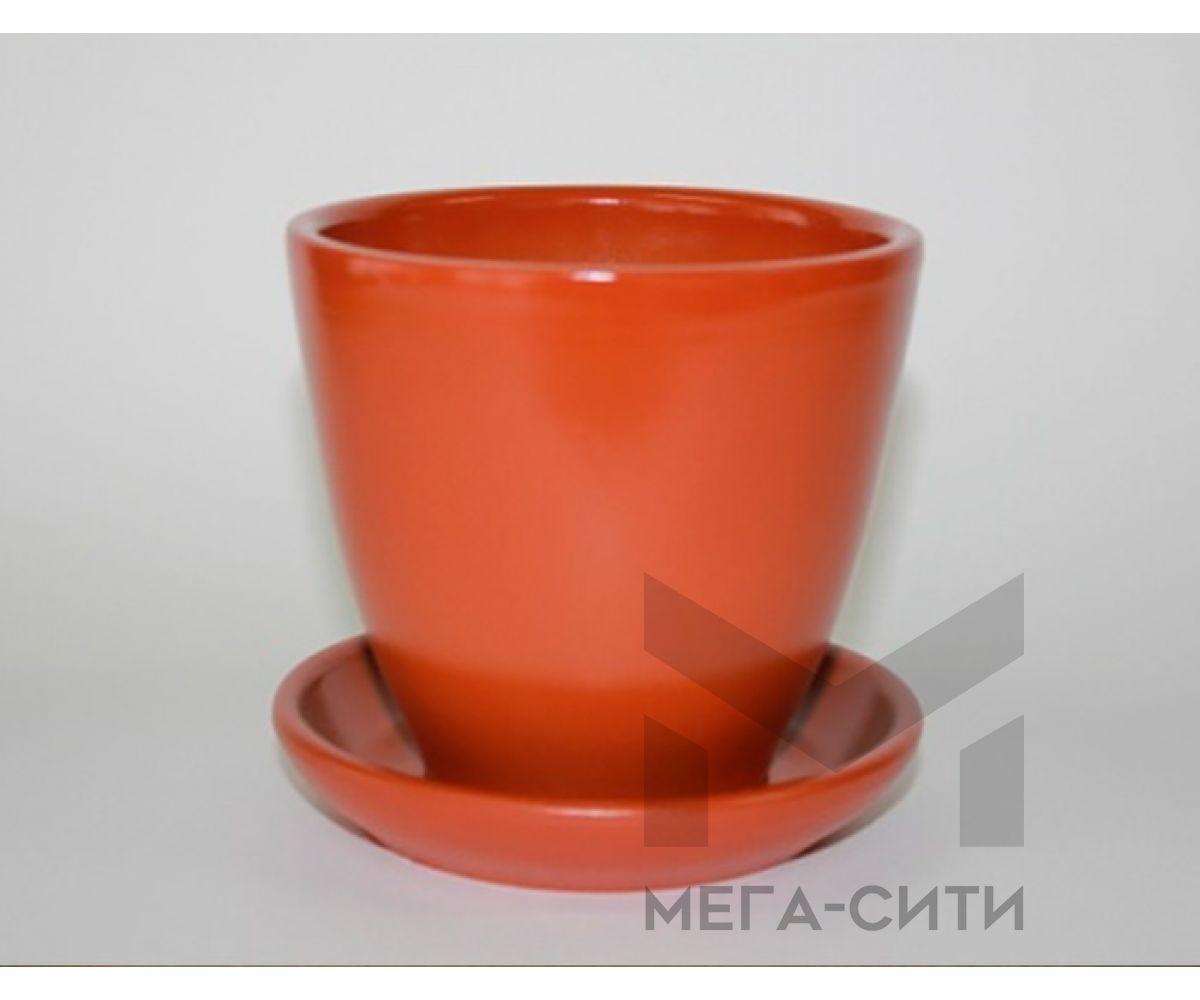 Горшки керамические, комплект, производство Польша, 34A
