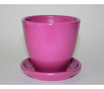 Горшки керамические, комплект, производство Польша, 4006