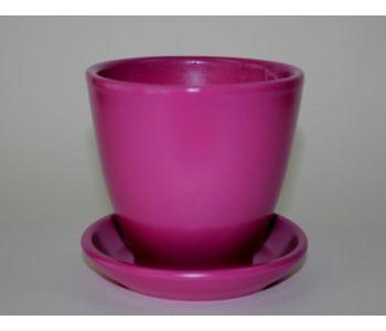 Горшки керамические, комплект, производство Польша, 4008