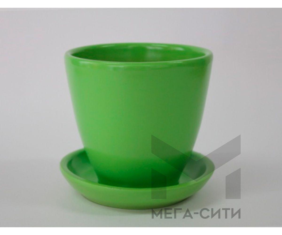 Горшки керамические, комплект, производство Польша, 6018