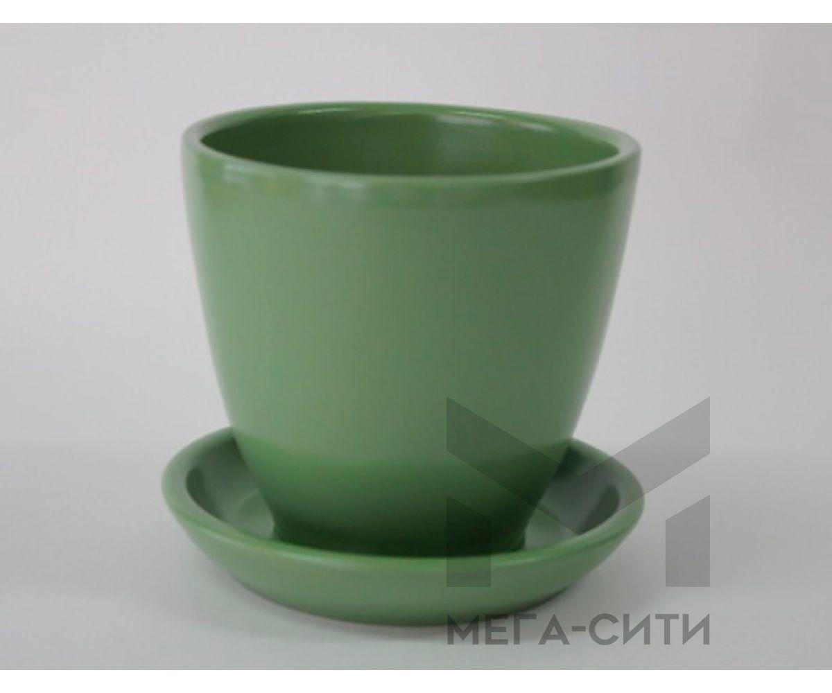Горшки керамические, комплект, производство Польша, 6021