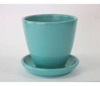 Горшки керамические, комплект, производство Польша, 6034