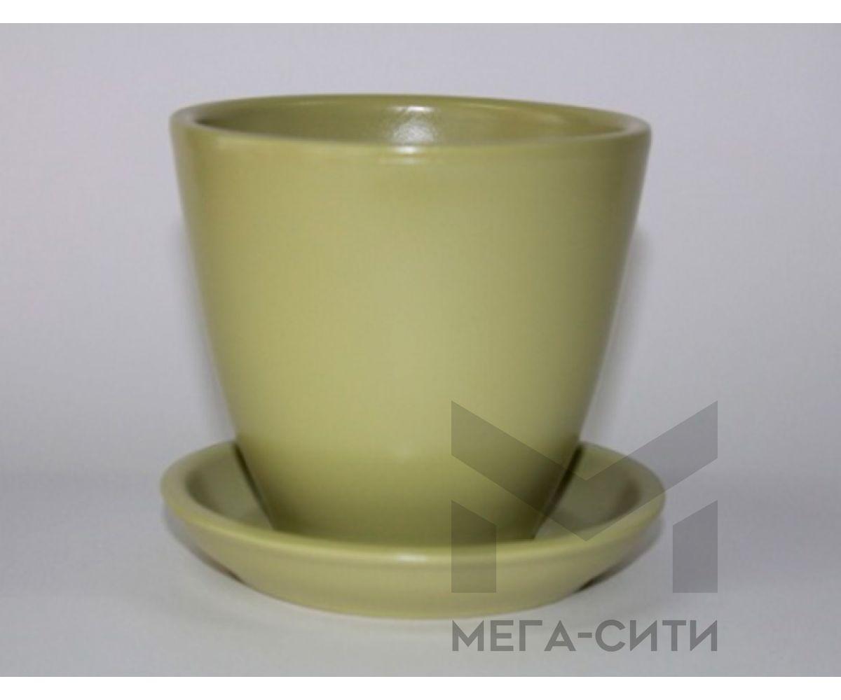 Горшки керамические, комплект, производство Польша, 7034