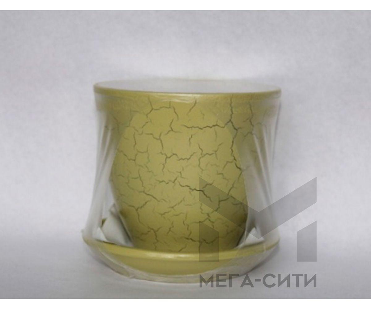 Горшки керамические, комплект, производство Польша, 7034C