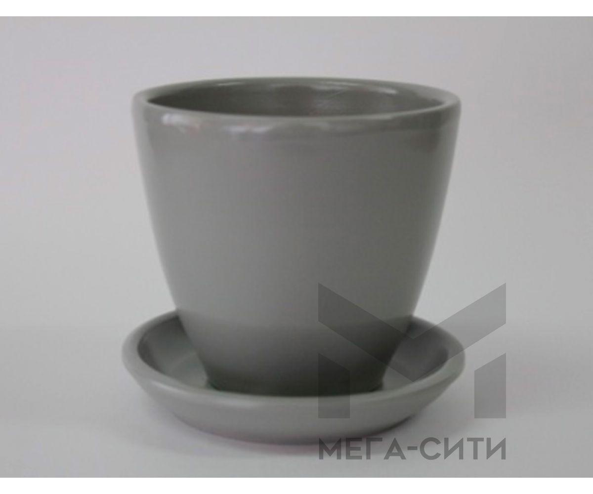 Горшки керамические, комплект, производство Польша, 9006