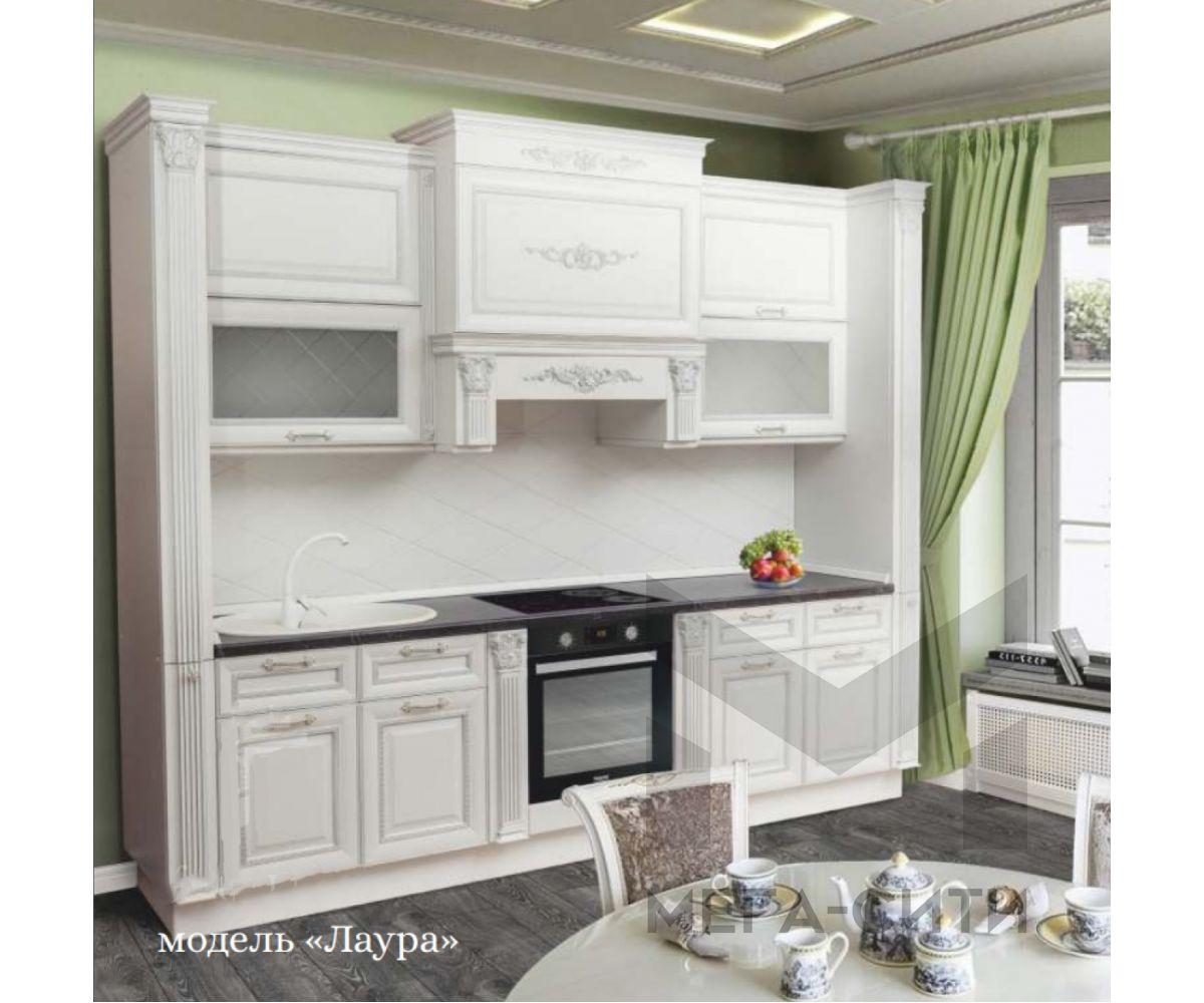 Кухонный гарнитур Лаура из массива березы  3м