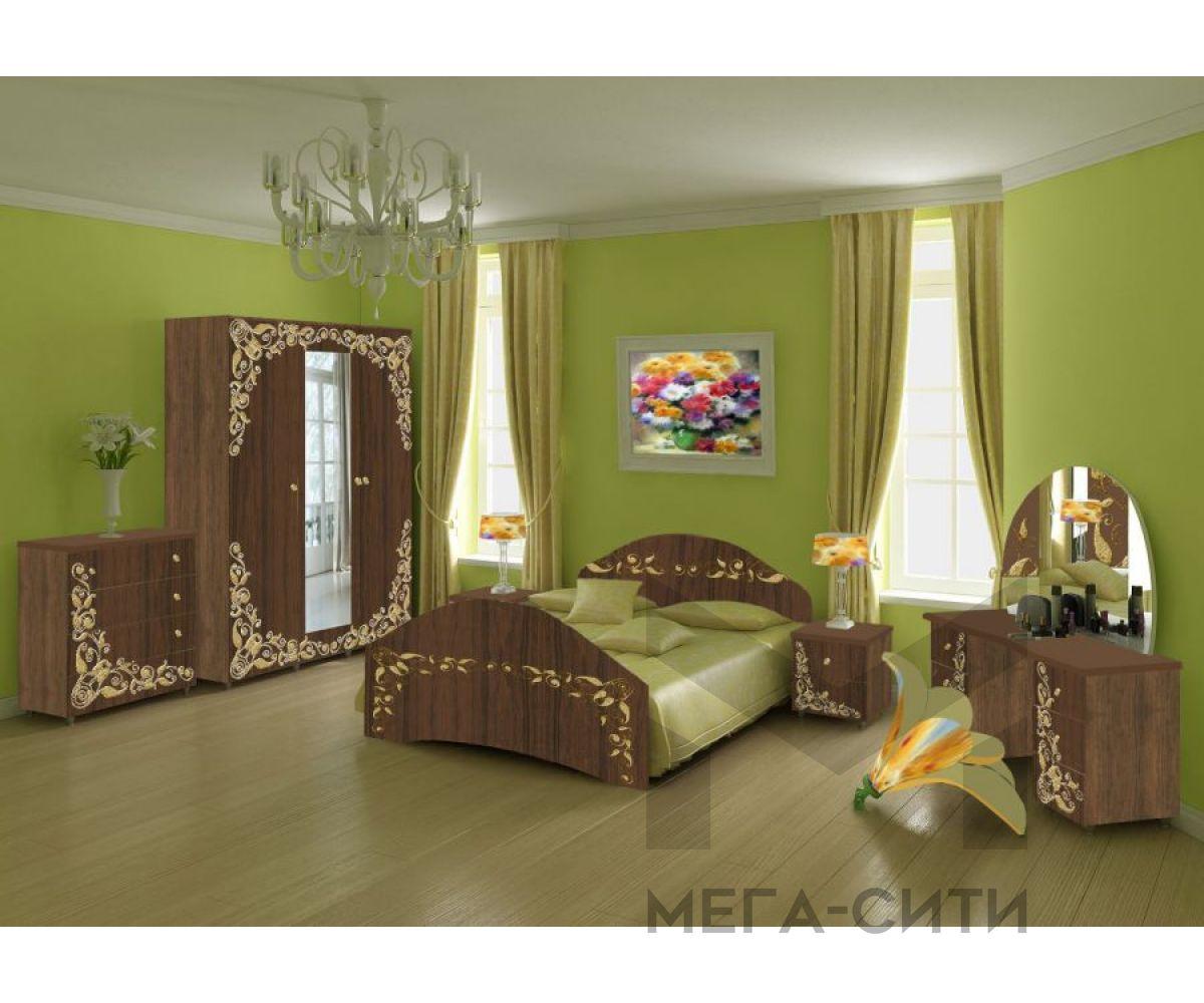 Спальный гарнитур с фотопечатью Лика 5 а