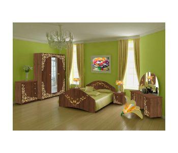 Спальный гарнитур с фотопечатью Лика 5