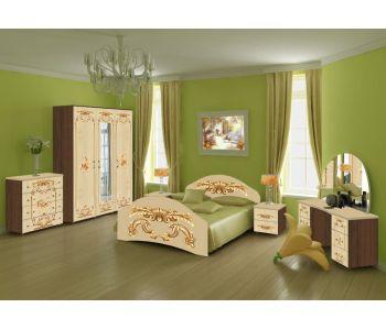 Спальный гарнитур с фотопечатью  Лика 10