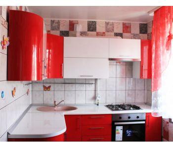 Готовая работа,Кухня  красная