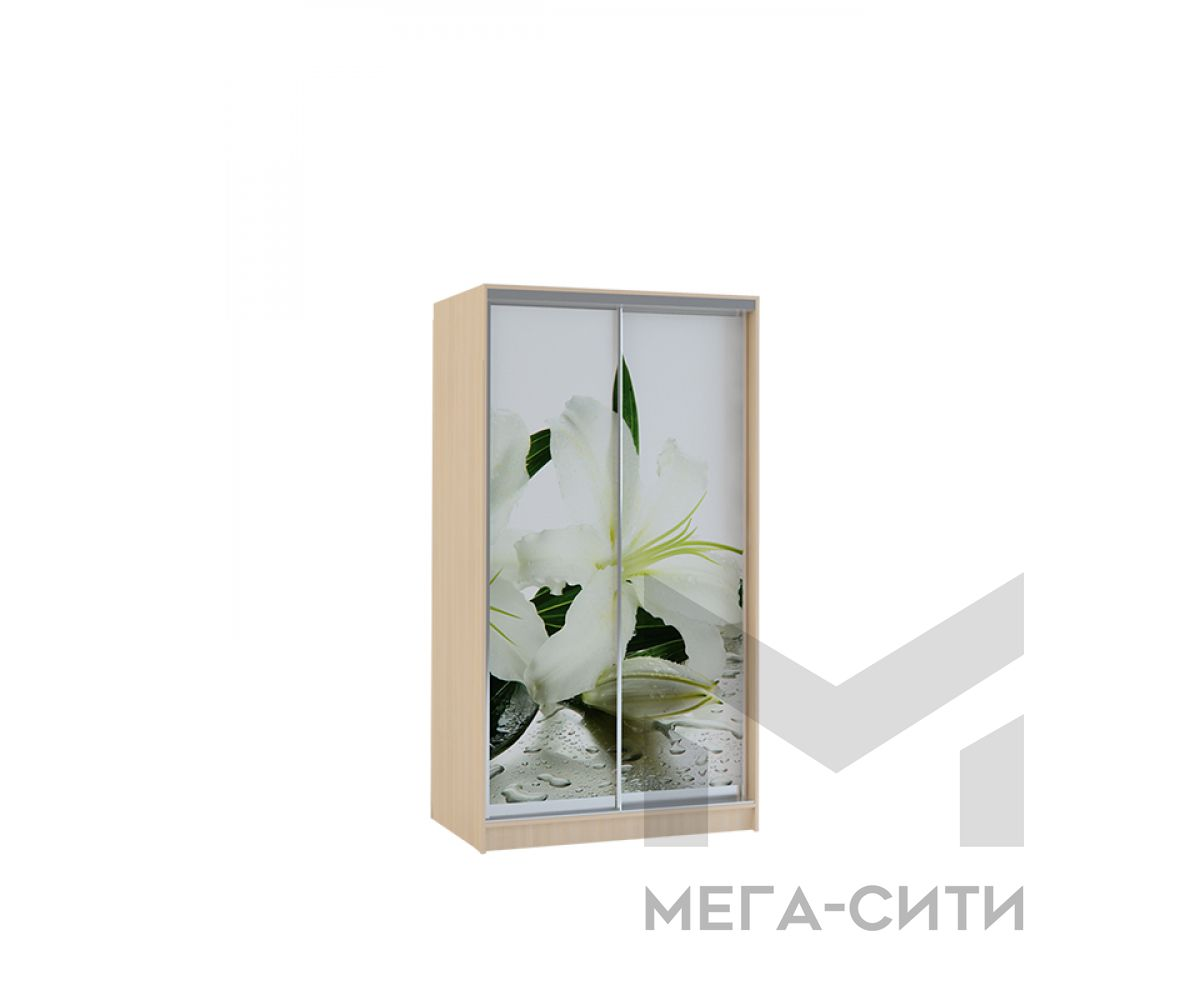 Шкаф купе Vivat 1,2 dub molochnii lilii copy
