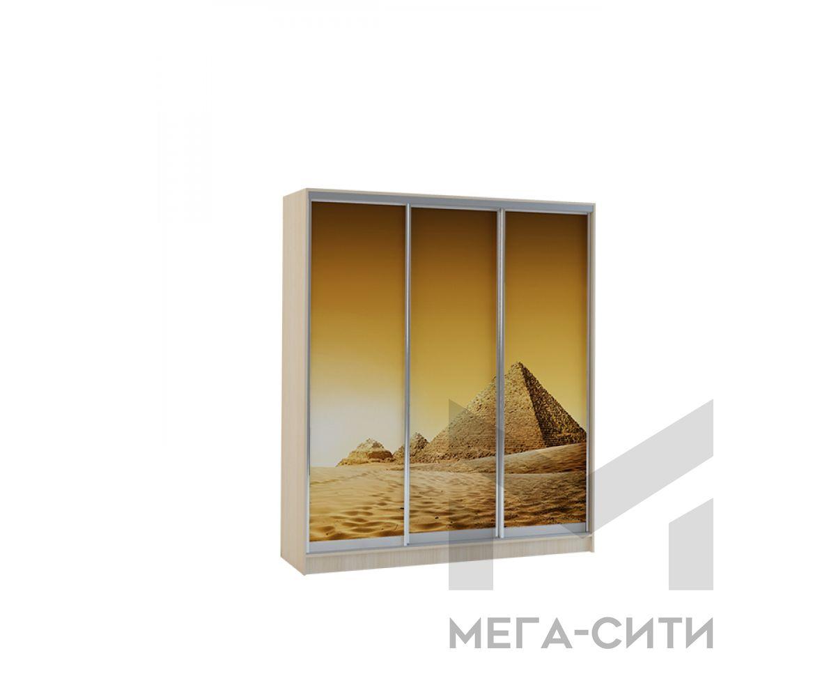Шкаф купе Vivat 1,77 dub mol piramidi copy