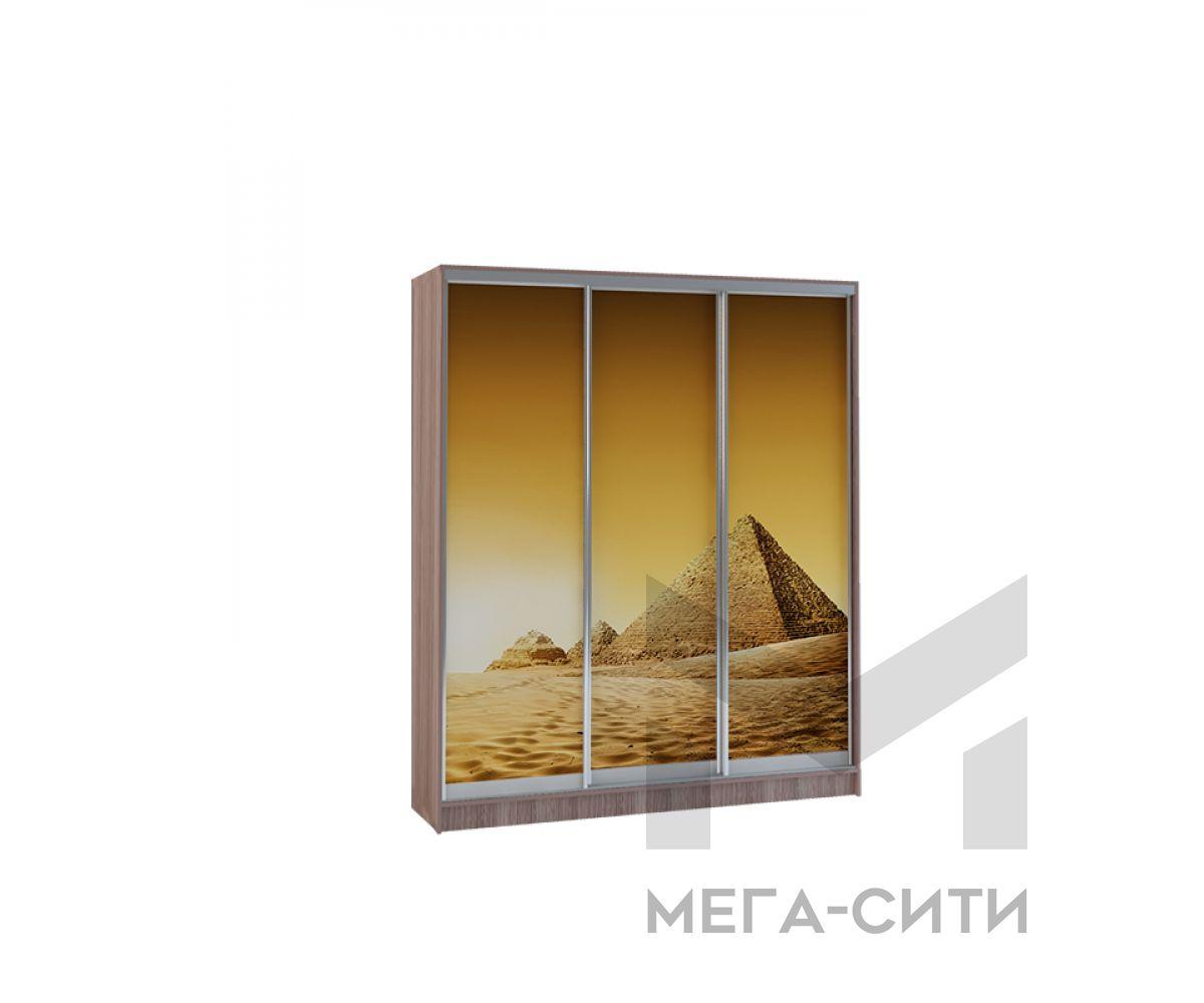 Шкаф купе Vivat 1,77 shimo temnii piramidi copy