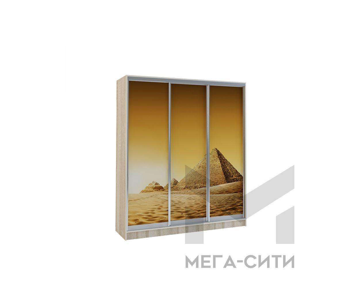 Шкаф купе Vivat 1,77 sonoma piramidi copy