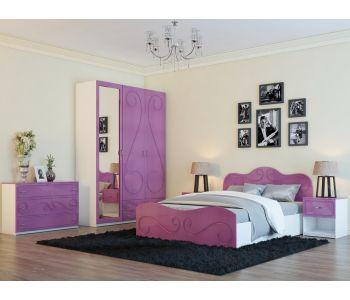 Спальный гарнитур Классик розов 7