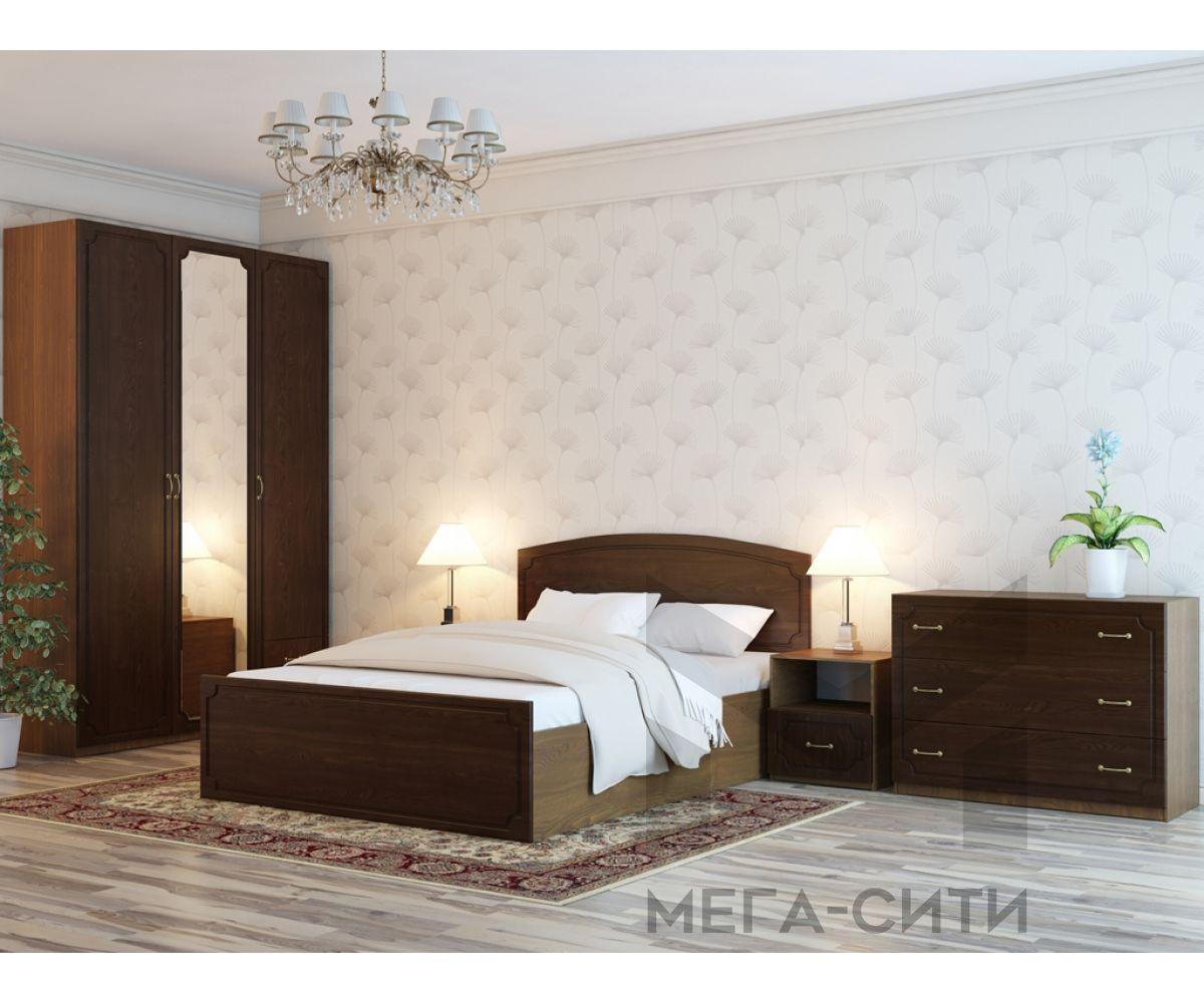 Спальный гарнитур Классик-8 ''Альфа-2'' лдсп