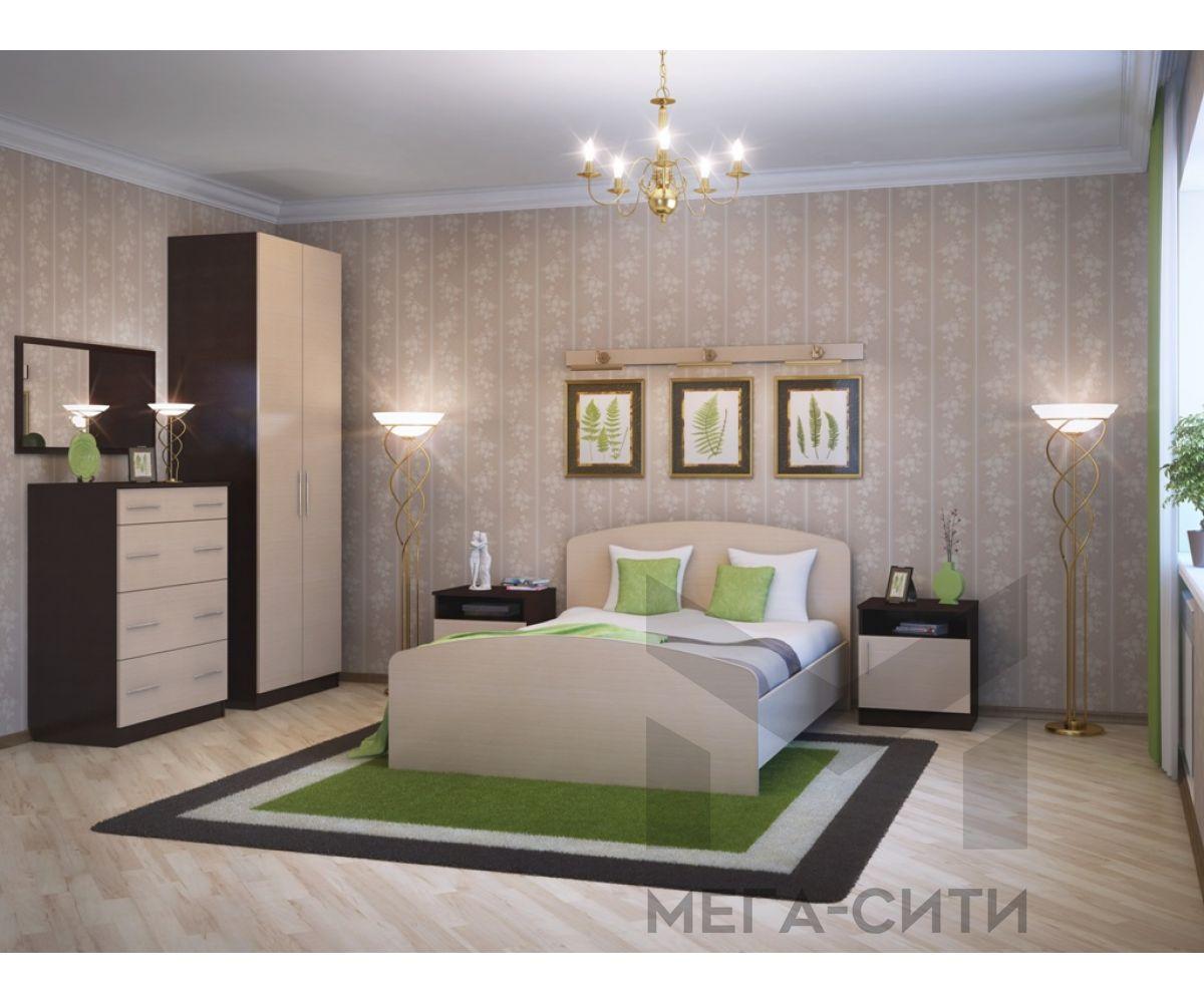 Спальный гарнитур Элеонора-1 К-Венге