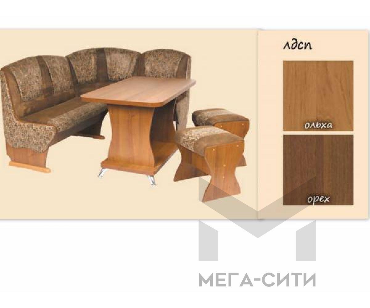Кухонный уголок Тип №4 Люкс