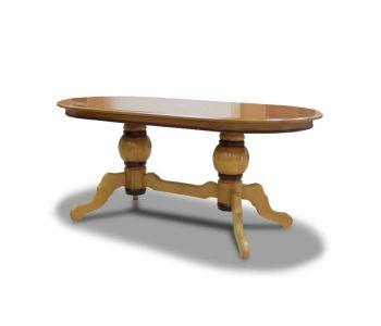Стол обеденный на 2х утолщенных ногах