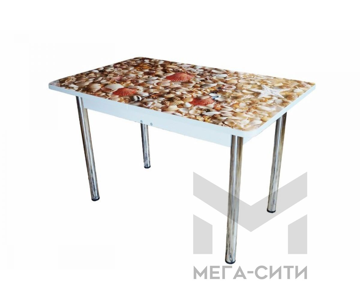 Стол обеденный МДФ Высокий глянец. Раздвижной