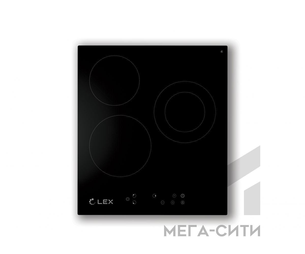 Варочная панель  электрическая  LEX EVH 431 BL
