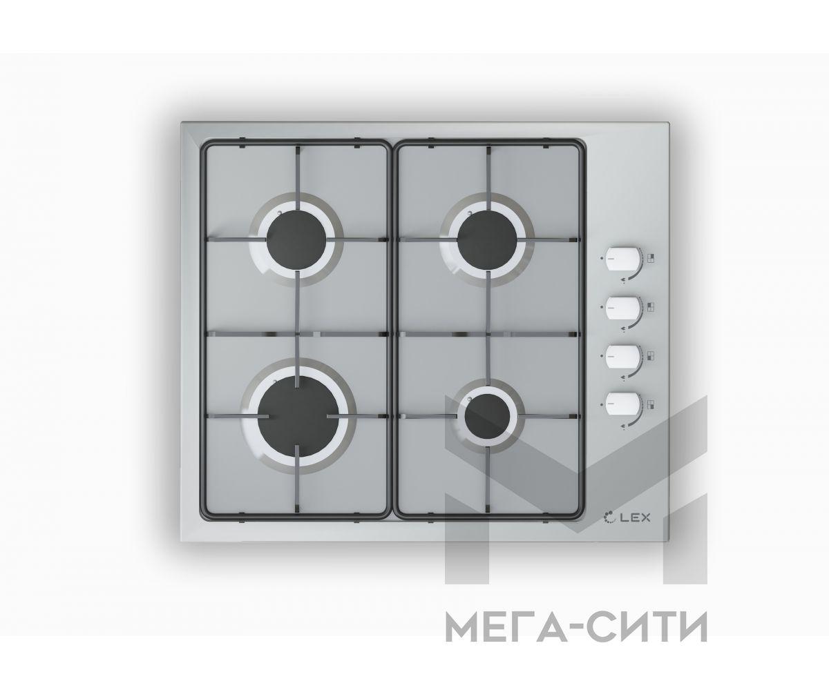 Газовая варочная панель  LEX GVS 644-1 IX