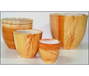 Горшки керамические,комплект,производство Польша №2