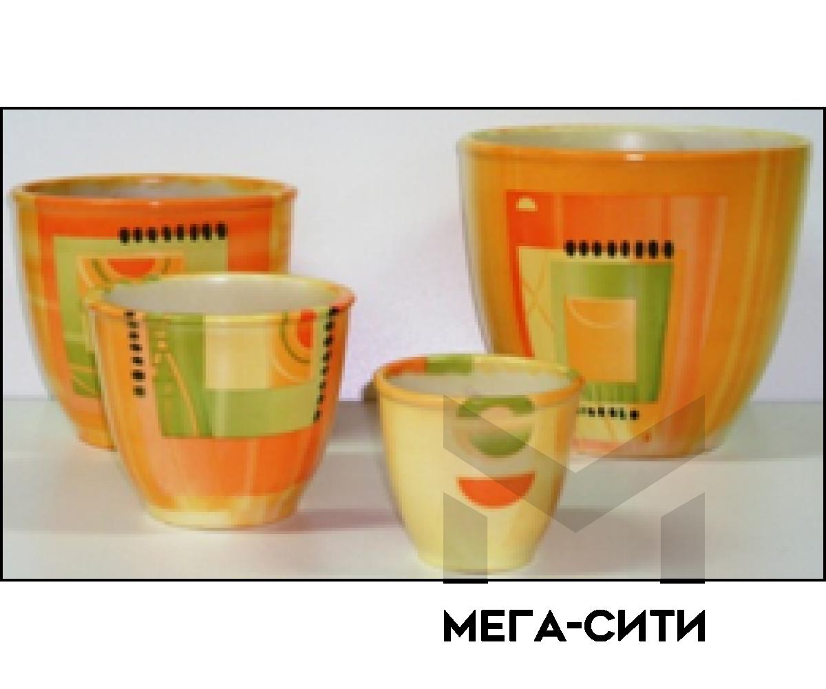 Горшки керамические,комплект,производство Польша №18