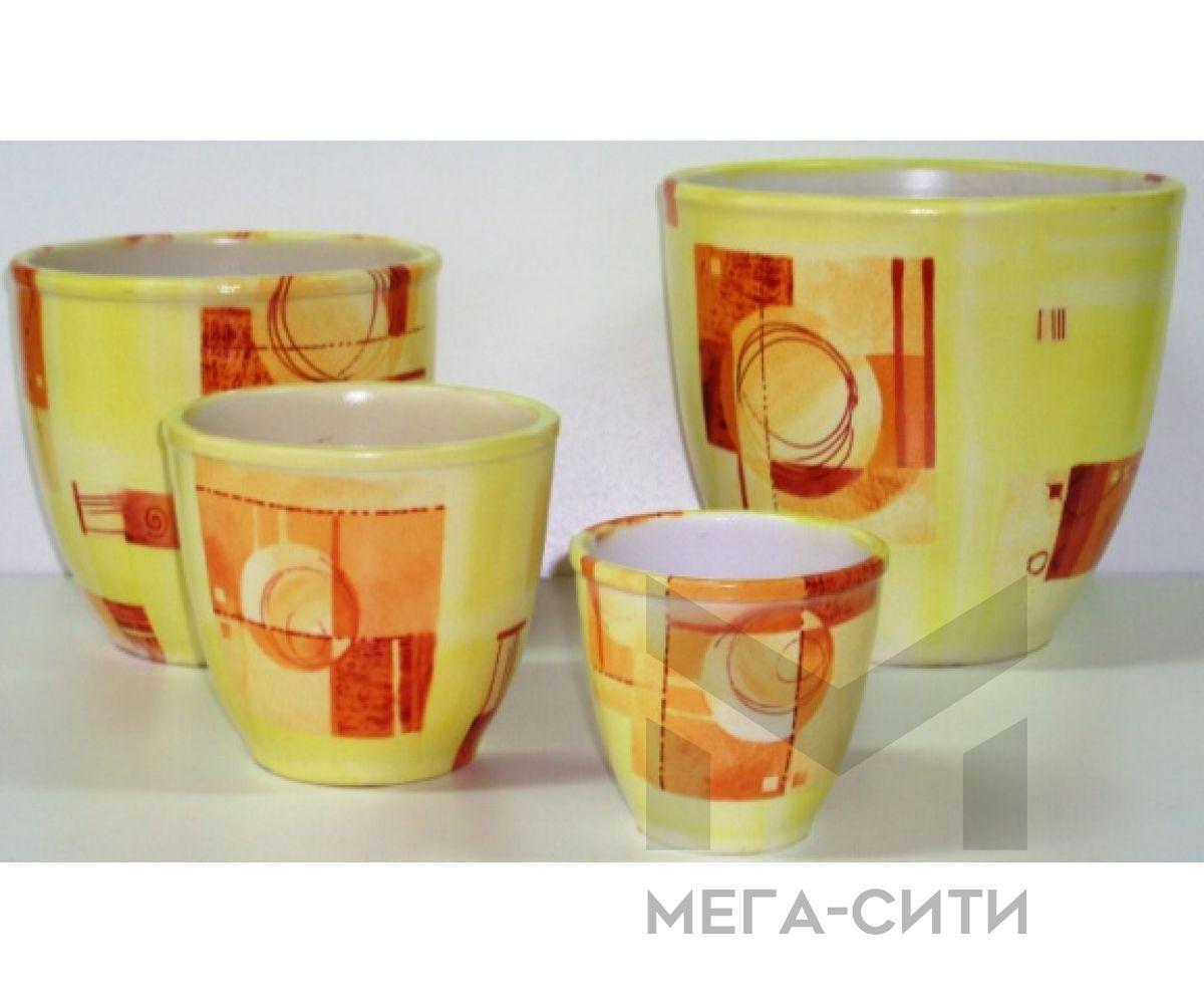 Горшки керамические,комплект,производство Польша №25