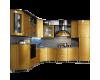 Кухонные гарнитуры из мдф,из пластика