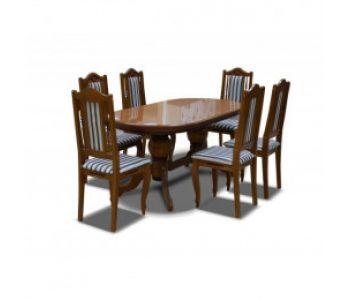 Обеденные столы и стулья  из массива
