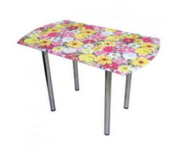 Стеклянные столы с фотопечатью