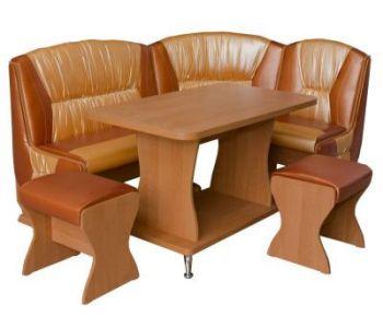 Кухонный уголок в комплекте со стульями