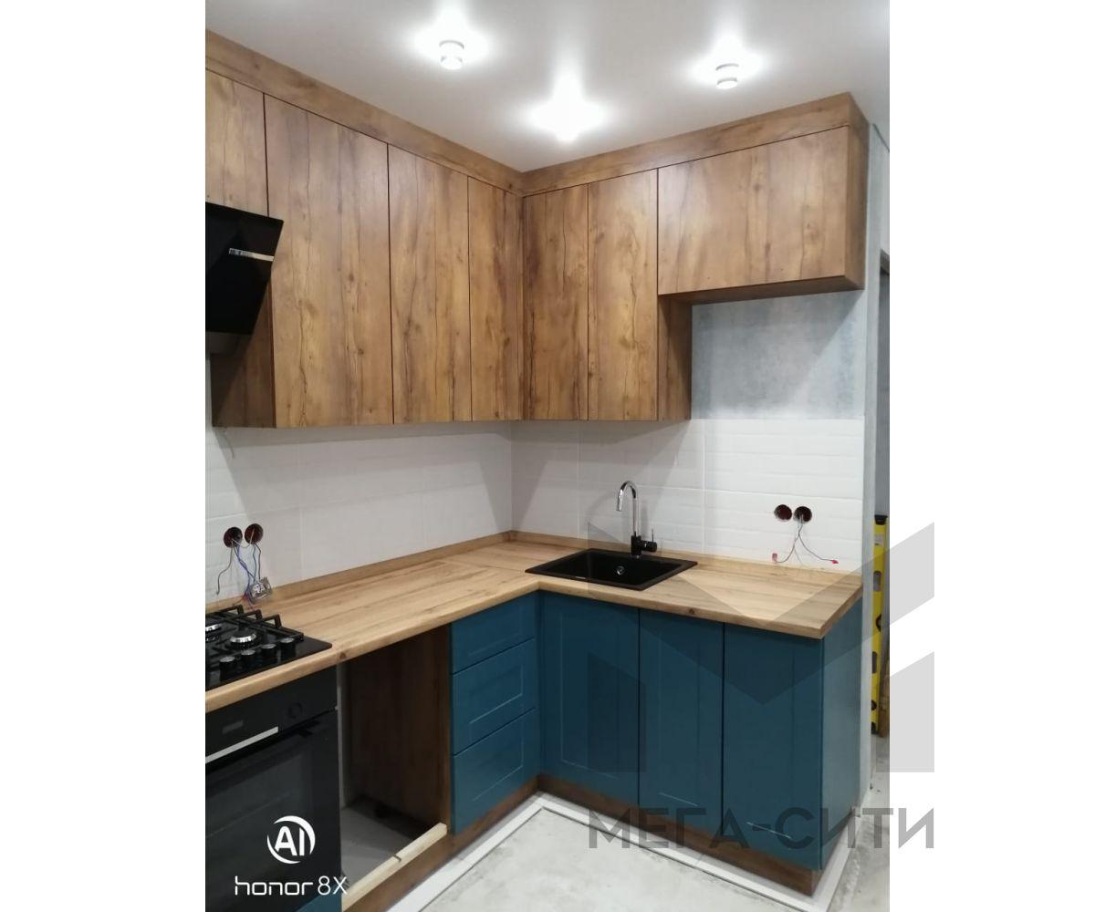 Кухня из мдф в стиле лофт